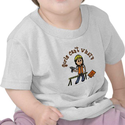 Light Construction Girl Tshirt