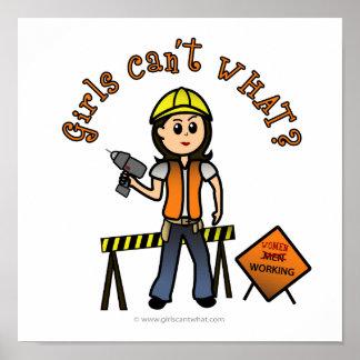 Light Construction Poster