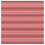 [ Thumbnail: Light Coral and Maroon Colored Pattern of Stripes Fabric ]