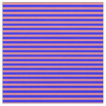 [ Thumbnail: Light Coral & Blue Colored Striped Pattern Fabric ]