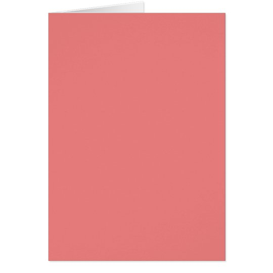 Light Coral Card