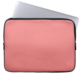 Light Coral Classic Colored Laptop Sleeve