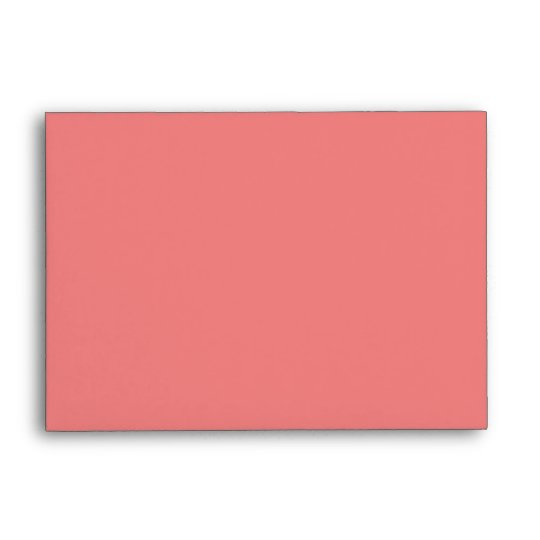 Light Coral Envelope