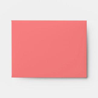 Light Coral Envelope