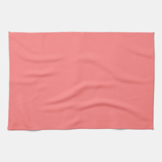 Light Coral Kitchen Towels