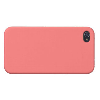 Light coral solid color iPhone 4/4S case