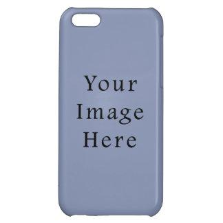 Light Cornflower Blue Color Trend Black Template iPhone 5C Cover