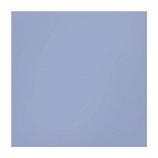 Light Cornflower Blue Color Trend Template Gallery Wrap Canvas