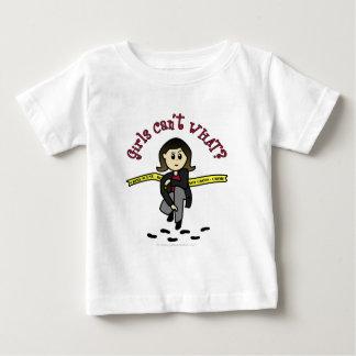 Light CSI Detective Baby T-Shirt