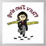 Light CSI Girl Poster