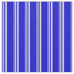 [ Thumbnail: Light Cyan and Blue Colored Lines Pattern Fabric ]