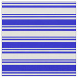 [ Thumbnail: Light Cyan and Blue Colored Stripes/Lines Pattern Fabric ]
