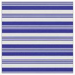 [ Thumbnail: Light Cyan and Blue Striped/Lined Pattern Fabric ]