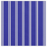 [ Thumbnail: Light Cyan and Dark Blue Lines/Stripes Pattern Fabric ]