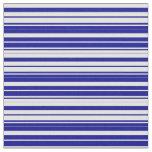 [ Thumbnail: Light Cyan and Dark Blue Pattern Fabric ]