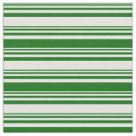 [ Thumbnail: Light Cyan and Dark Green Lined/Striped Pattern Fabric ]