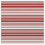 [ Thumbnail: Light Cyan and Dark Red Colored Stripes Pattern Fabric ]