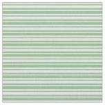 [ Thumbnail: Light Cyan and Dark Sea Green Lines Pattern Fabric ]