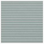 [ Thumbnail: Light Cyan and Dark Slate Gray Colored Stripes Fabric ]