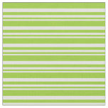 [ Thumbnail: Light Cyan and Green Colored Lines Pattern Fabric ]