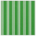 [ Thumbnail: Light Cyan and Green Pattern of Stripes Fabric ]