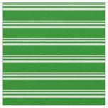 [ Thumbnail: Light Cyan and Green Stripes Fabric ]