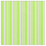 [ Thumbnail: Light Cyan and Light Green Colored Stripes Fabric ]