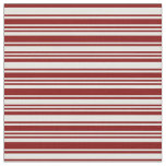 [ Thumbnail: Light Cyan and Maroon Lines/Stripes Pattern Fabric ]