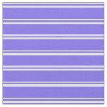 [ Thumbnail: Light Cyan and Medium Slate Blue Pattern Fabric ]