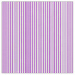 [ Thumbnail: Light Cyan and Orchid Stripes Fabric ]