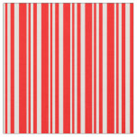 [ Thumbnail: Light Cyan and Red Colored Pattern Fabric ]