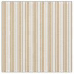[ Thumbnail: Light Cyan and Tan Pattern of Stripes Fabric ]
