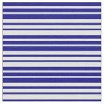 [ Thumbnail: Light Cyan & Blue Striped/Lined Pattern Fabric ]