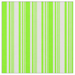 [ Thumbnail: Light Cyan & Chartreuse Colored Stripes Pattern Fabric ]
