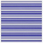 [ Thumbnail: Light Cyan & Dark Blue Colored Lines Fabric ]