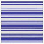 [ Thumbnail: Light Cyan & Dark Blue Colored Pattern Fabric ]