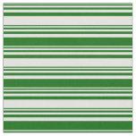 [ Thumbnail: Light Cyan & Dark Green Colored Lines Fabric ]