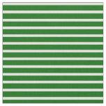 [ Thumbnail: Light Cyan & Dark Green Colored Stripes Pattern Fabric ]