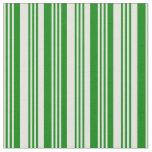 [ Thumbnail: Light Cyan & Green Lines/Stripes Pattern Fabric ]