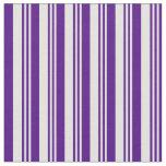 [ Thumbnail: Light Cyan & Indigo Lines Fabric ]