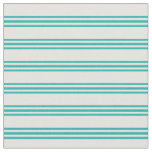 [ Thumbnail: Light Cyan & Light Sea Green Colored Lines Fabric ]