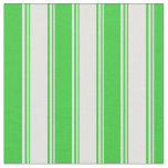 [ Thumbnail: Light Cyan & Lime Green Colored Lines Fabric ]