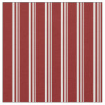 [ Thumbnail: Light Cyan & Maroon Colored Lined/Striped Pattern Fabric ]