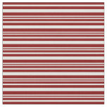 [ Thumbnail: Light Cyan & Maroon Lines/Stripes Pattern Fabric ]