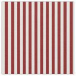 [ Thumbnail: Light Cyan & Maroon Stripes Fabric ]