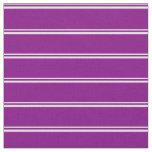 [ Thumbnail: Light Cyan & Purple Striped/Lined Pattern Fabric ]