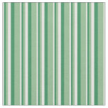 [ Thumbnail: Light Cyan, Sea Green, and Dark Sea Green Lines Fabric ]