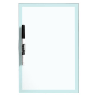 Light Cyan Solid Color Dry-Erase Board