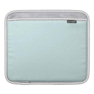 Light Cyan Solid Color iPad Sleeve