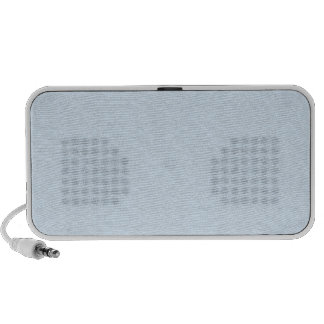 Light cyan texture iPod speaker